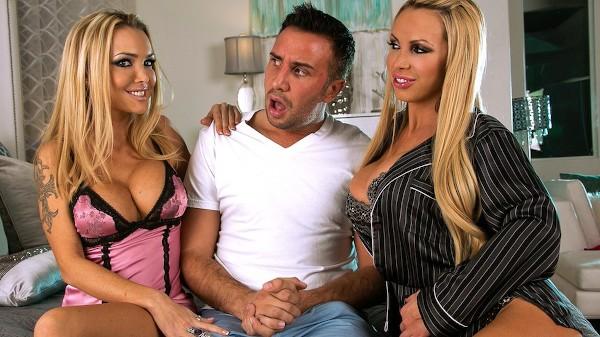 Dreamy Milf Threesome - Brazzers Porn Scene