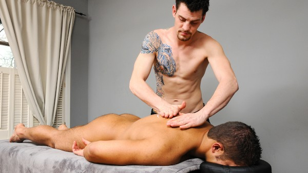 Muscle Worship Massage - feat Casey Monroe, Dereck Fox