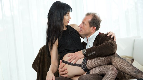 Woman In Black Has A Classy Affair With A New Dick at SexyHub.com