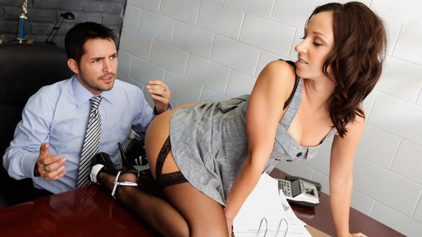 Office Perverts Vol 08 Scene 3 Porn DVD on Mile High Media with Jada Stevens, Kris Slater