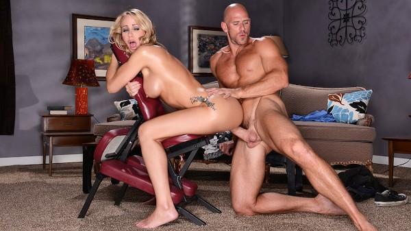 Massage Chair Muff - Brazzers Porn Scene