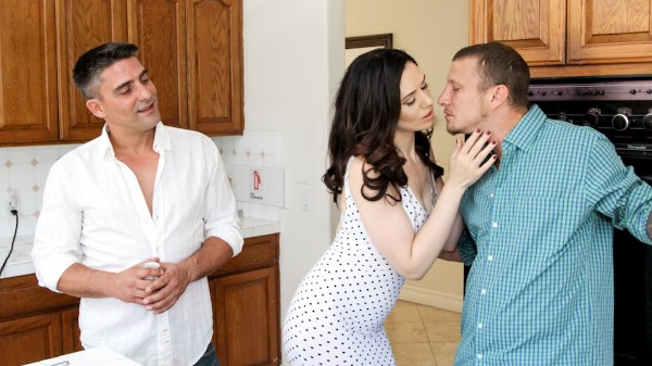 DP My Wife With Me #08 Scene 3 Porn DVD on Mile High Media with Sarah Shevon, Mr. Pete, Toni Ribas