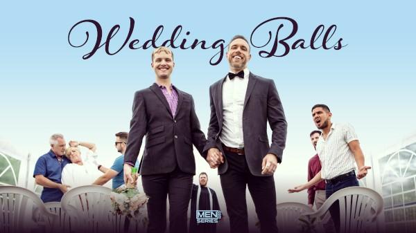 Enjoy Wedding Balls - Uncut on Twinkpop.com Featuring Alex Mecum, Malik Delgaty, Benjamin Blue