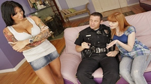 Oral Probation and the long finger of the law - Brazzers Porn Scene