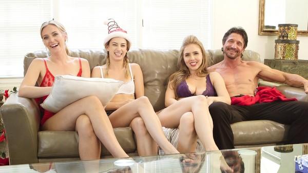 BTS _ Family Holiday Scene 5 Porn DVD on Mile High Media with Logan Pierce, Kristen Scott, Lena Paul, Tommy Gunn, Mona Wales, Reagan Foxx
