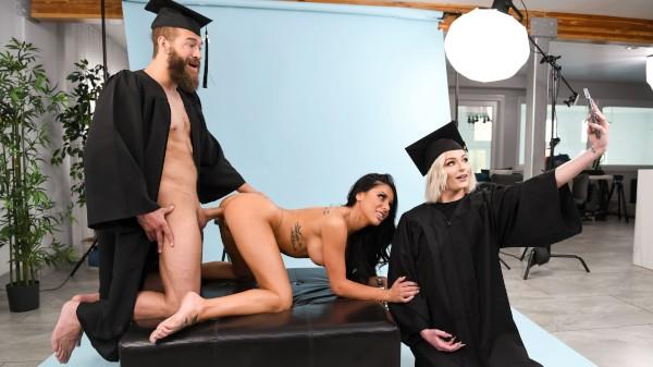 Graduating Tits - Brazzers Porn Scene