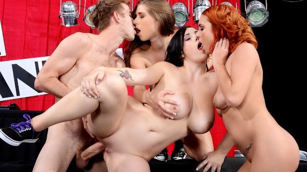 Wet Titty T-Shirt Telethon - Brazzers Porn Scene