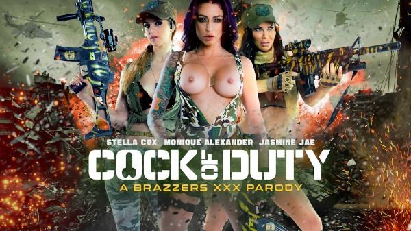 Cock Of Duty: A XXX Parody - Brazzers Porn Scene