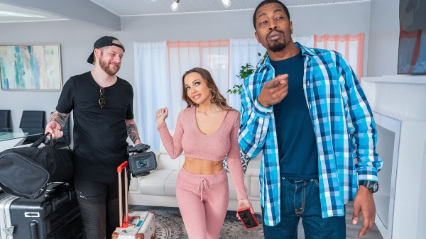 I Fucked My BnB Host featuring Abigail Mac, Isiah Maxwell - Reckless In Miami Scene