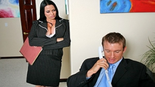 Caught By the Boss - Brazzers Porn Scene