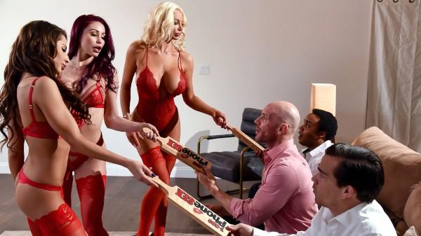 1 800 Phone Sex: Line 8 - Brazzers Porn Scene