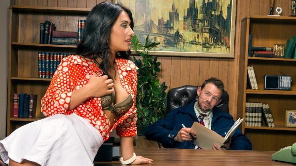 Anchorwoman: A XXX Parody - Scene 1 - Erik Everhard, Eva Lovia