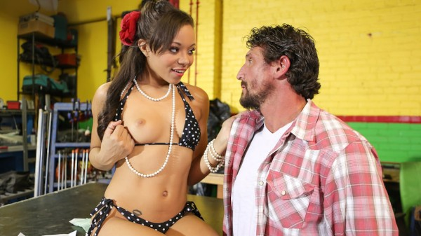 Beauty & Brains! Scene 4 Porn DVD on Mile High Media with Adrian Maya, Tommy Gunn