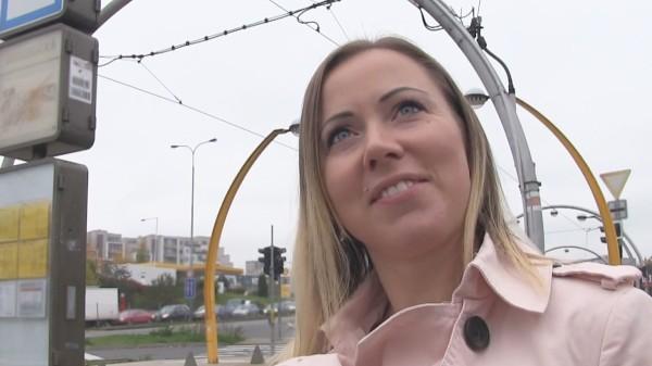 Watch Bibi Fox in Cute Blonde Opens Legs for Free Transit