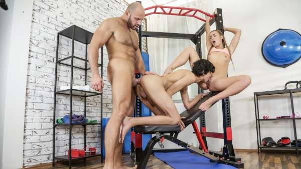 Clever Alexis Bisexual Orgy on Bi Empire with Alexis Crystal