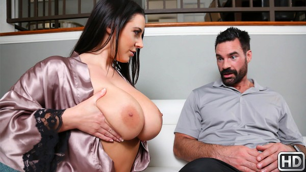 One Last Night Stand with Charles Dera, Angela White at bignaturals.com