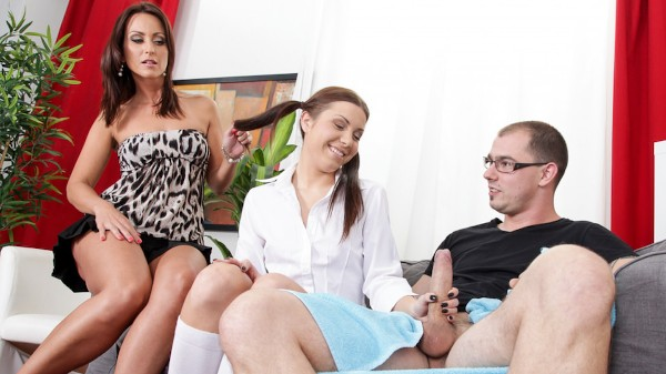 Mom And Dad Are Fucking My Friends #13 Scene 1 Porn DVD on Mile High Media with Mark Zicha, Simone Style