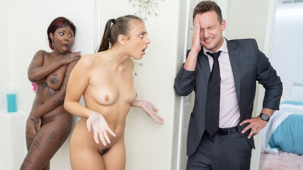 My Roommate's Fuck Buddies: Part 1 featuring Gia Derza, Daizy Cooper - Reckless In Miami Scene