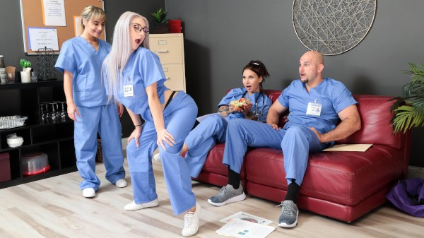 Registered Nurse Naturals Hardcore Kings Porn 100% XXX on hardcorekings.com starring JMac, Skylar Vox