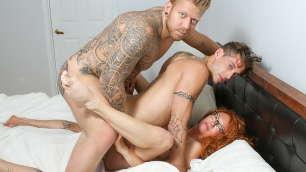 A Bit Of Both - Part 2 Bisexual Orgy on Bi Empire with Mam Steel