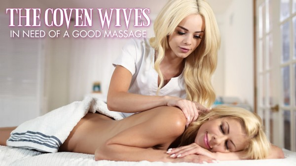 In Need Of A Good Massage Scene 2 Porn DVD on Mile High Media with Alexis Fawx, Elsa Jean