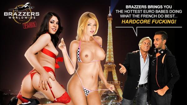 Brazzers Worldwide Paris - Brazzers Porn Scene