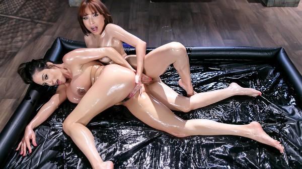 Oily Playtime - Lezdom Bliss Lesbian Porn Video