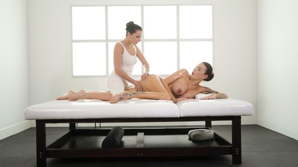 Czech babes oil drenched pleasures at SexyHub.com