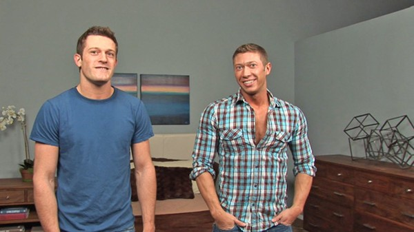 Watch Johnny & Sander: Behind the Scenes on Male Access - All the Best Gay Porn in One place