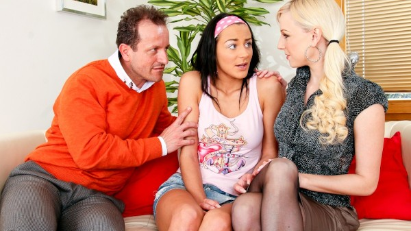 Mom And Dad Are Fucking My Friends Vol 04 Scene 1 Porn DVD on Mile High Media with George Uhl, Naomi Montana, Lena Cova