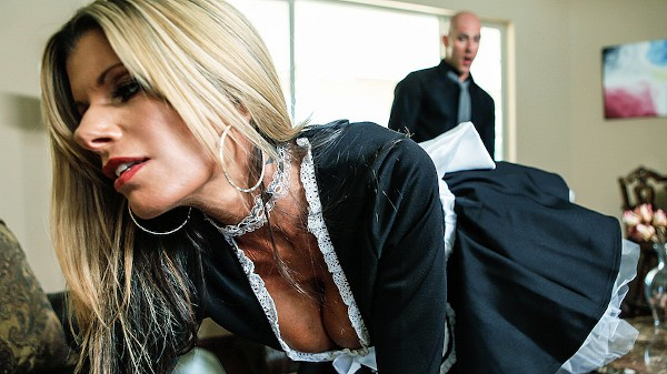 Laid by the Maid - Brazzers Porn Scene