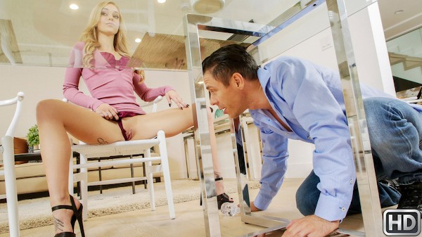 Kali Wants His Attention with Mick Blue, Kali Roses at sneakysex.com
