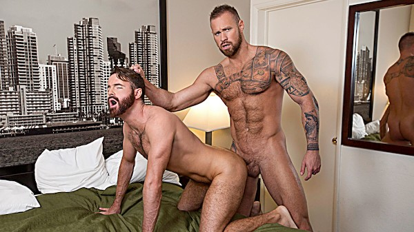 Watch Brendan Patrick, Michael Roman in Raw Spankers, Scene 1