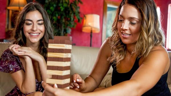 Tumbling Towers Elite XXX Porn 100% Sex Video on Elitexxx.com starring Val Dodds, Arielle Faye