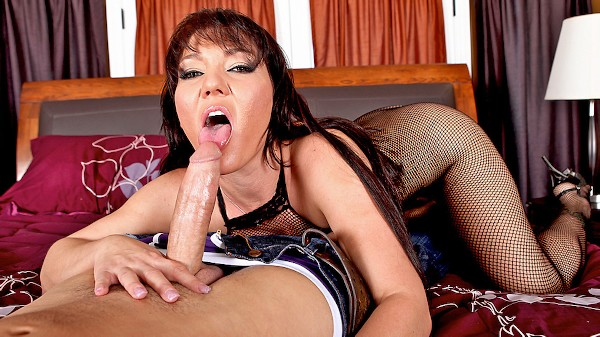 Deepthroating's Not a Hobby, It's a Profession - Brazzers Porn Scene