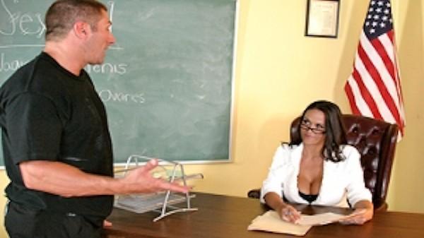 Miss Bing's anatomy - Brazzers Porn Scene