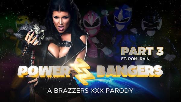 Power Bangers: A XXX Parody Part 3 - Brazzers Porn Scene