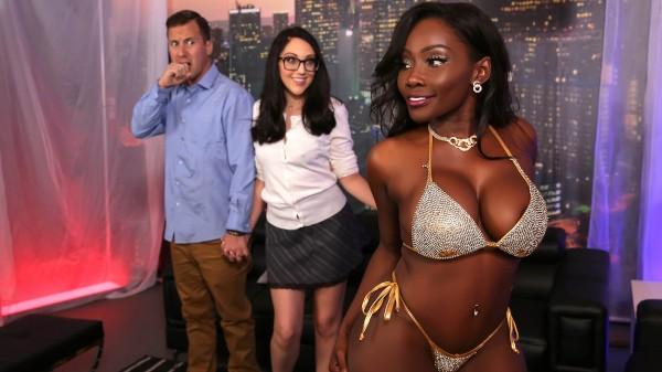Strip Club Surprise - Brazzers Porn Scene