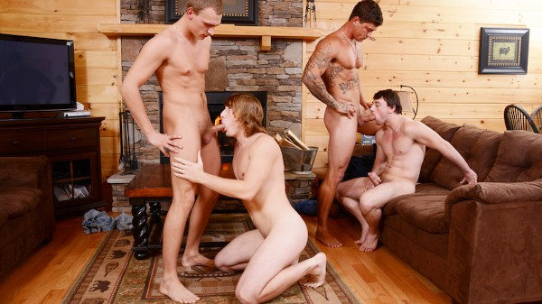 Watch Backwoods Bareback Part #3, Scene 1 on Male Access - All the Best Gay Porn in One place
