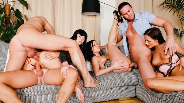 Swingers Orgies Scene 1 Porn DVD on Mile High Media with Ally Style, J.J, Kari, Niki Sweet, Steve Q, Thomas