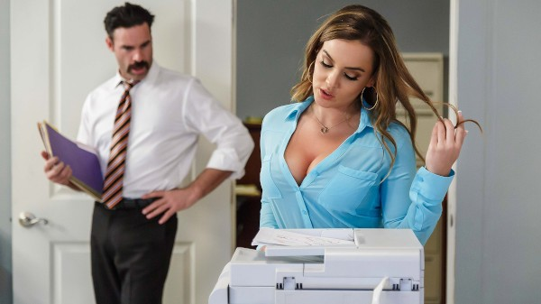 Office Initiation - Brazzers Porn Scene