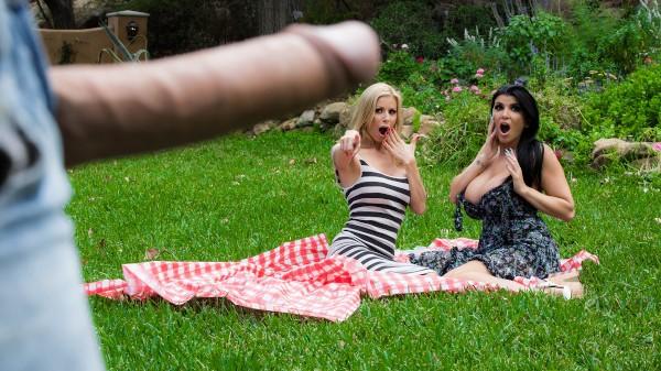 Pervert In The Park - Brazzers Porn Scene