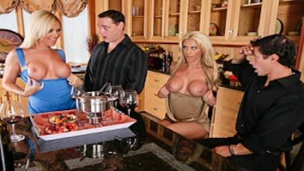 A Cock Swapping Invitation - Brazzers Porn Scene