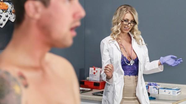 My Stepmom's Physical - Brazzers Porn Scene