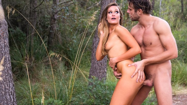 British babe outdoor fuck fantasy at SexyHub.com