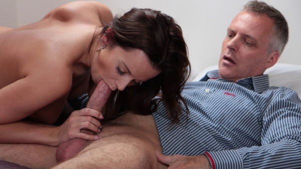Mature Man Treats MILF To An Excellent Fuck at SexyHub.com