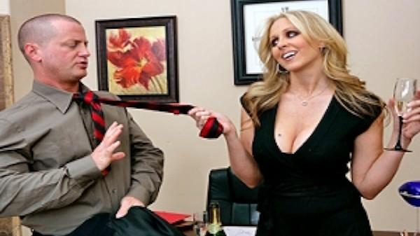 Office Party Fucking - Brazzers Porn Scene