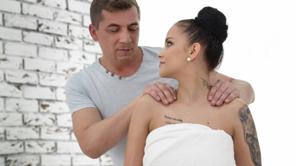Full Service Massage Vol. 8 Scene 1 Porn DVD on Mile High Media with Steve Q, Jennifer Mendez