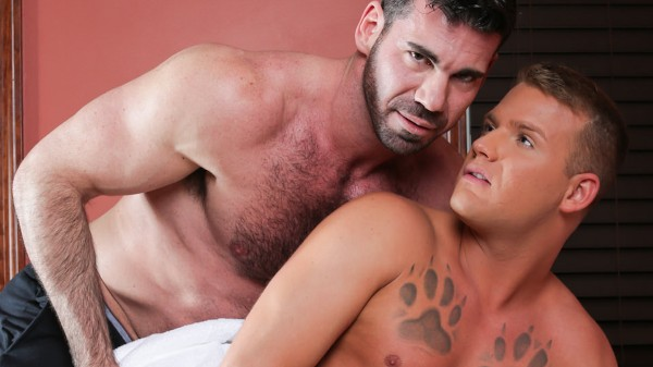 Gay Massage House 4 Scene 3 - Billy Santoro, Brandon Wilde