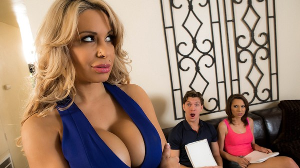 Music To A Mom's Ears - Brazzers Porn Scene